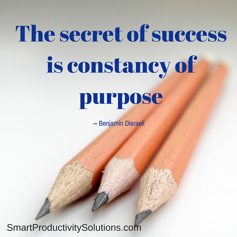 Success Constancy Get Your Mind Out Of The Clutter
